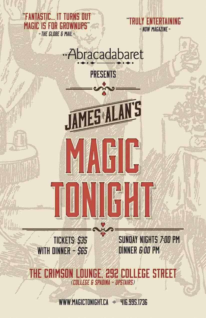 Magic Tonight Toronto Poster sm