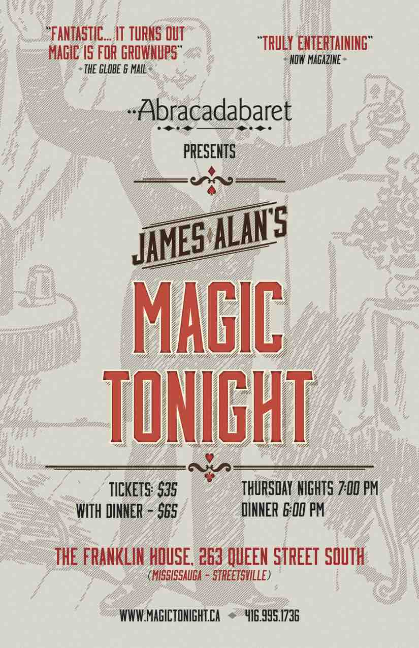 Magic Tonight Mississauga Poster
