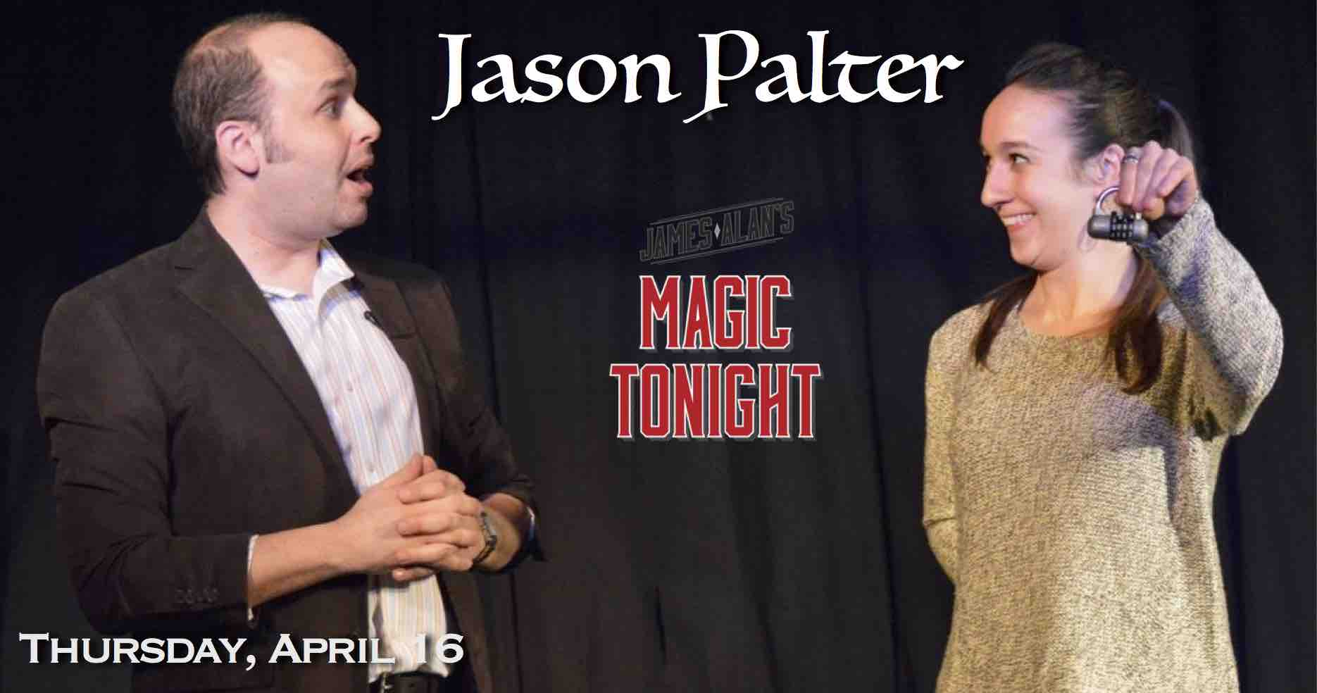 Apr 16 Jason Palter