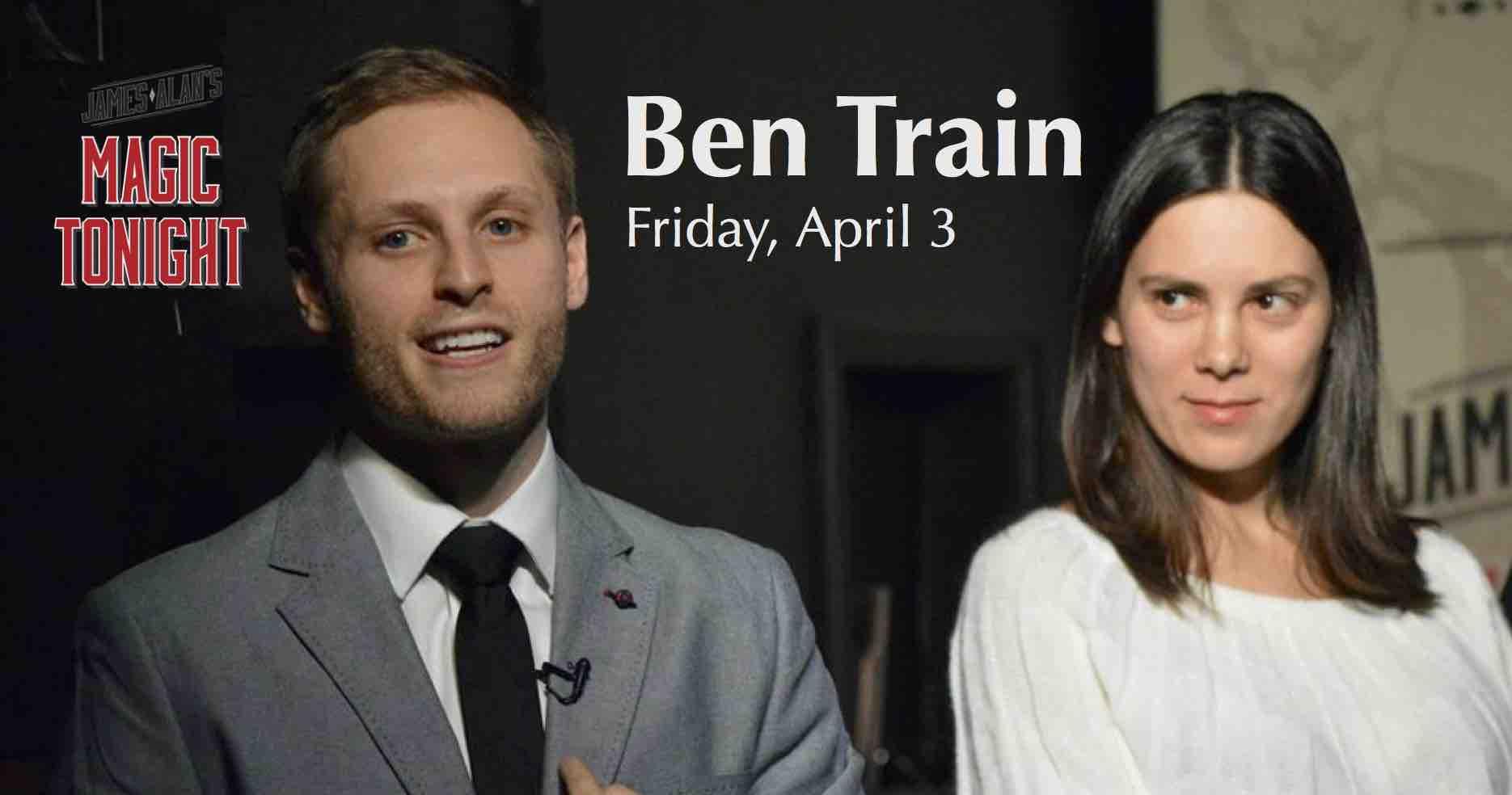 Apr 3 Ben Train