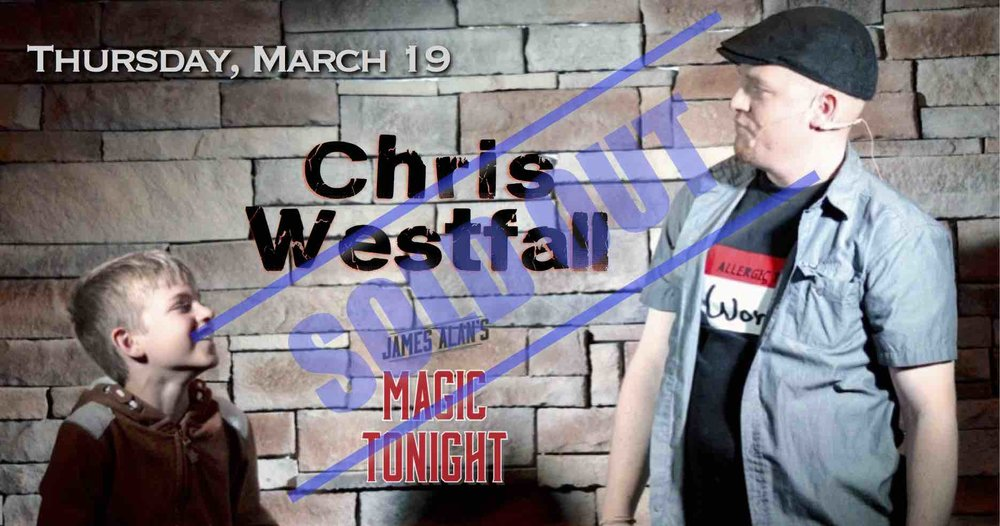 Mar 19 Westfall Sold Out