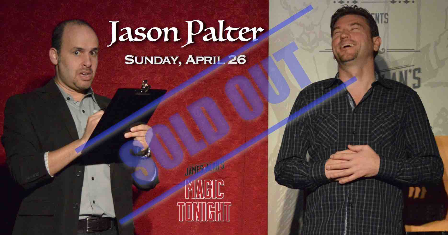 Apr 26 Jason Palter sold out