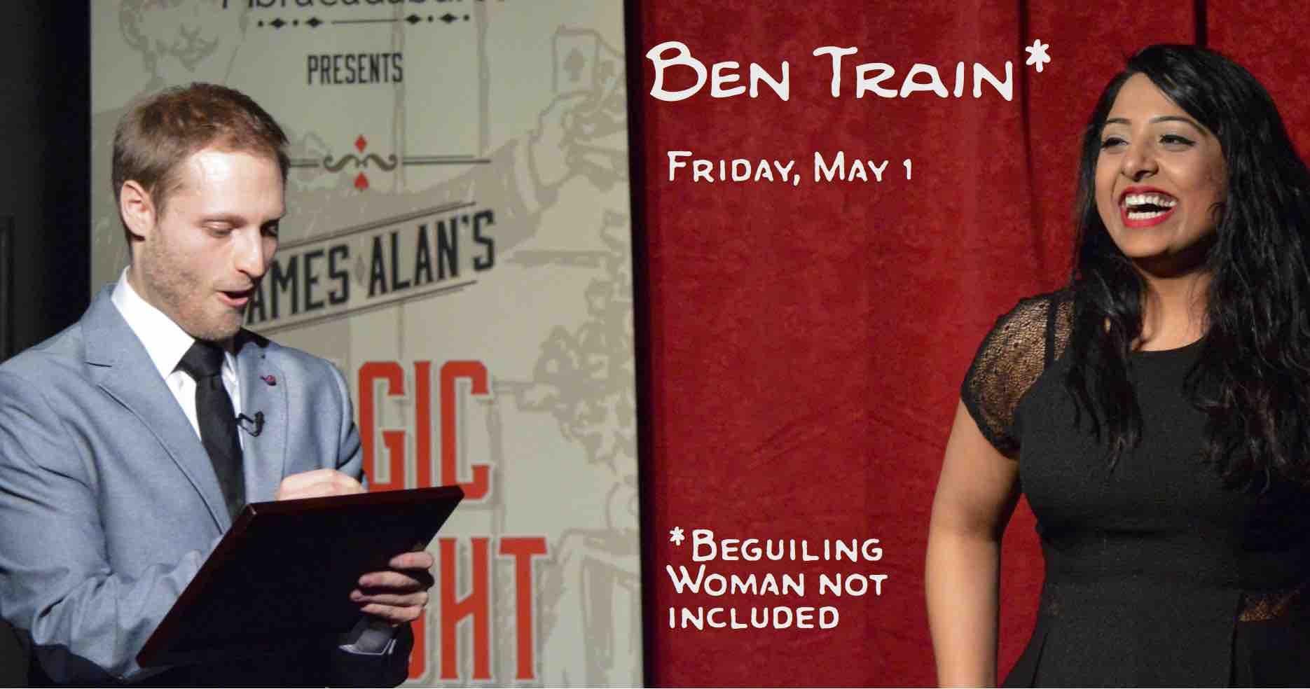 May 1 Ben Train