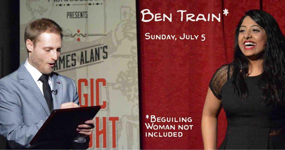 July 5 Ben Train