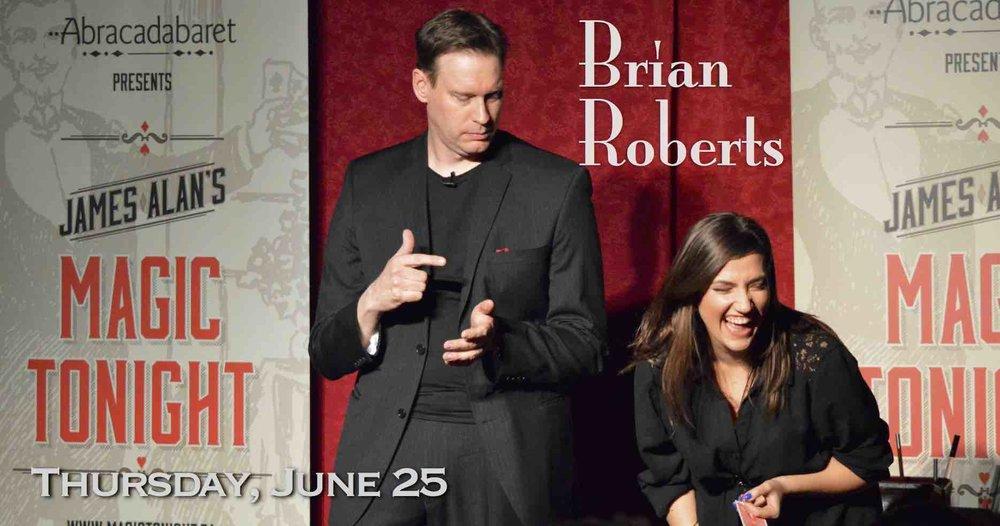 June 25 Brian Roberts