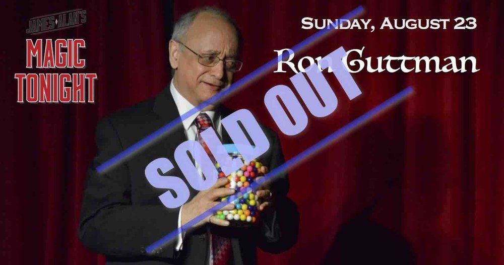 August 16 Ron Guttman sold out