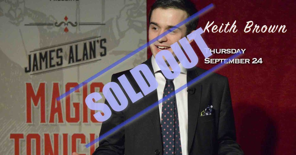 September 24 - Keith Brown - Sold Out