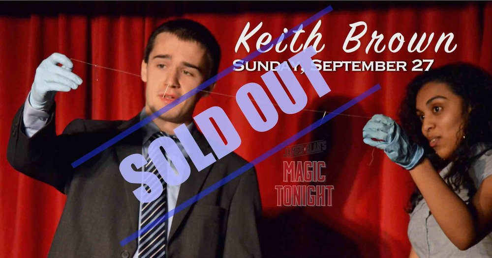 September 27 - Keith Brown sold out