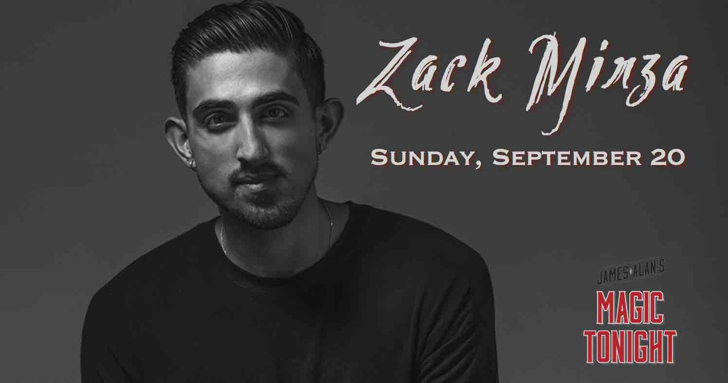 September 20 Zack Mirza