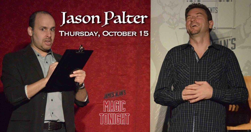 October 15 Jason Palter