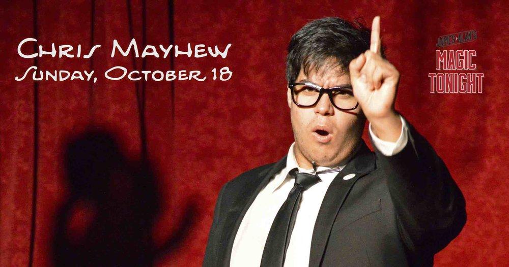 October 18 Chris Mayhew