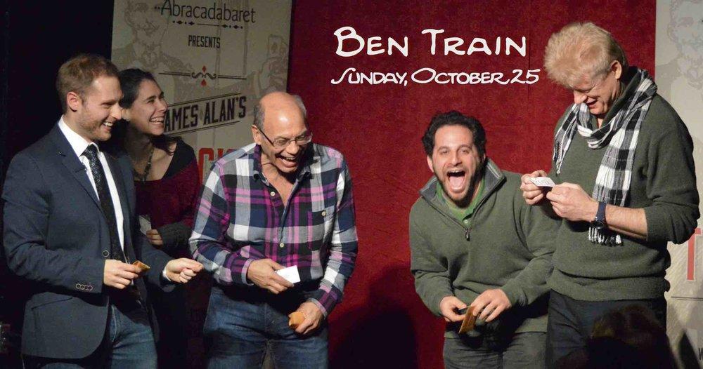 October 25 Ben Train