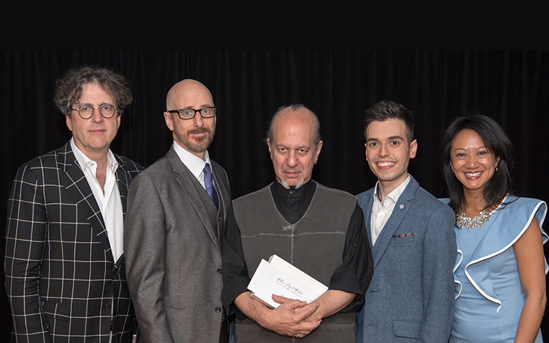 David Ben, John Lovick, Max Maven, Edward Hilsum, Julie Eng - Photo by David Linsell