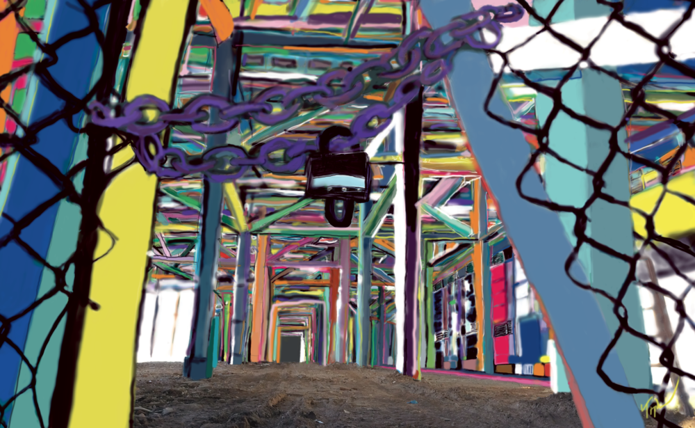 "Gowanus Viaduct   Image Size 46""X70"""