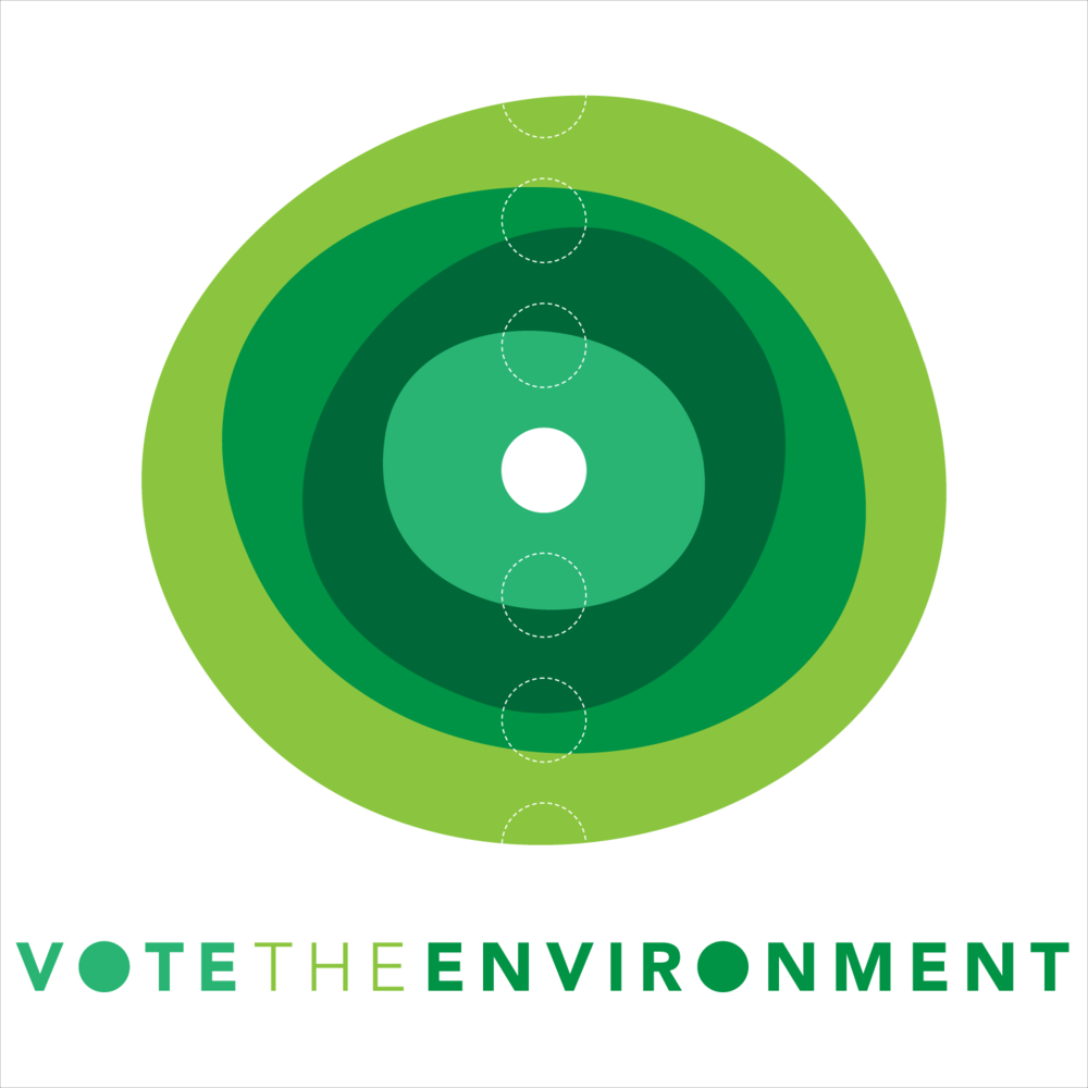 Poster design environment - Vote The Environment Poster