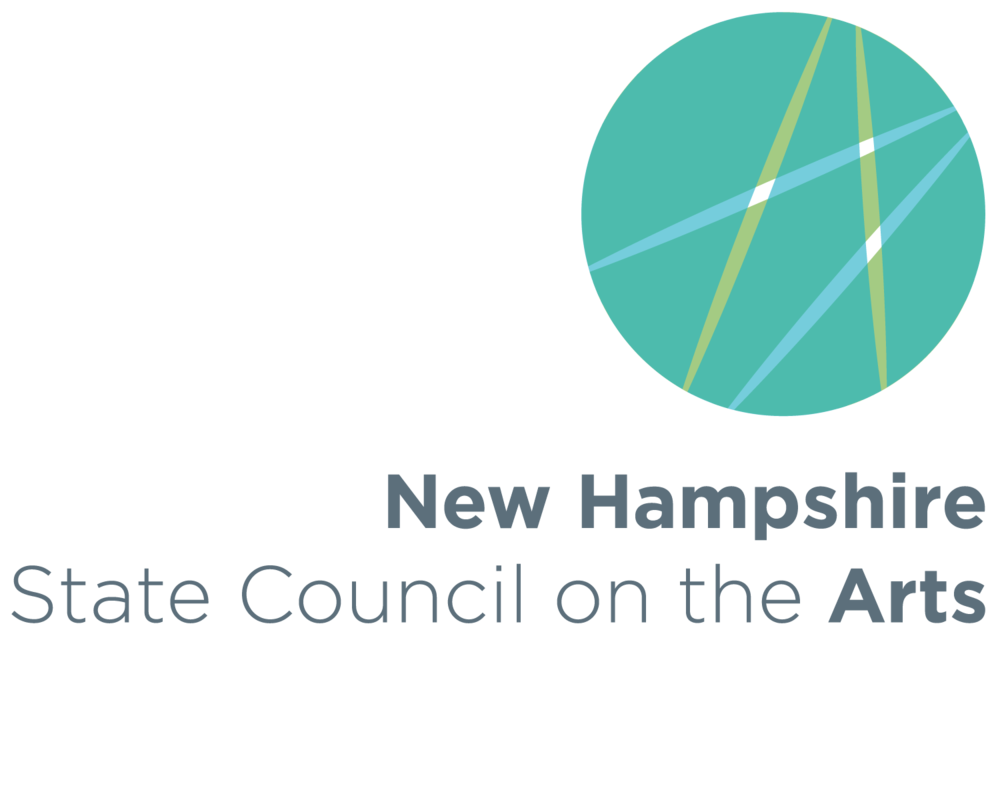 2015 new logo design for New Hampshire State Council on the Arts (in honor of their 50th anniversary) awarded Best of Graphic Design in New Hampshire Creative Club's 27th Annual Exhibition