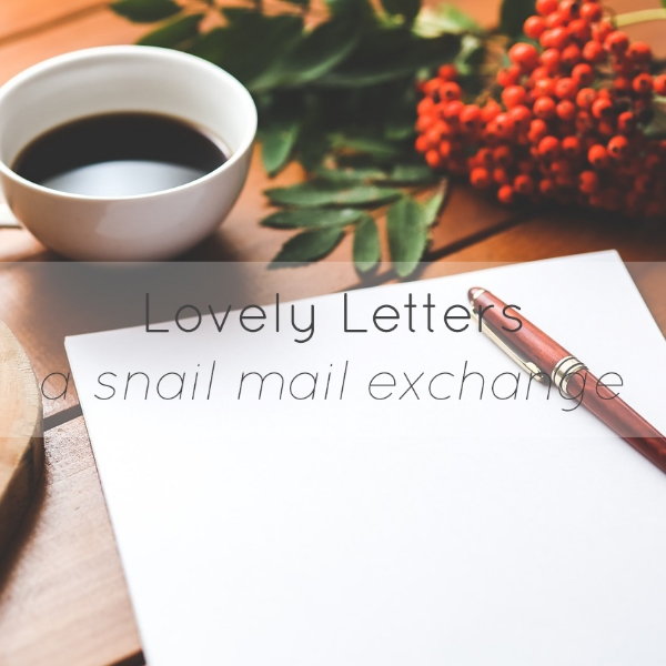 lovely letters snail mail exchange insolence + wine