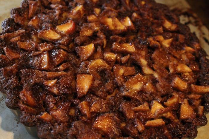 Apple Bourbon Tart With Gingersnap Crust