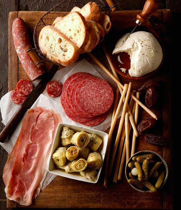 Antipasta Platter via Picture Perfect Meals