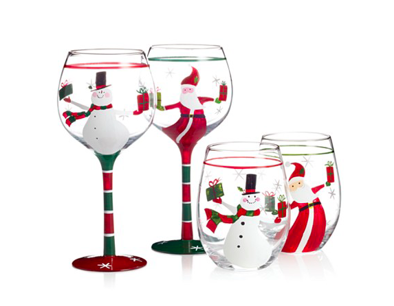 holiday presents wine glass giveaway insolence + wine
