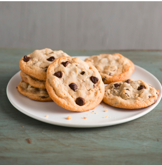 Chewy Peanut Butter Chocolate Chip Cookies Via Food & Wine