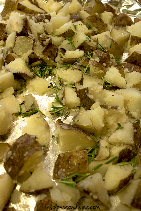 crispy rosemary potatoes insolence + wine