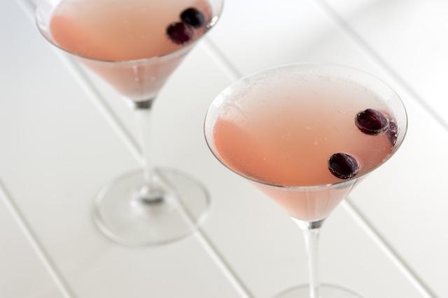 Champagne Cosmopolitan via Inspired Taste