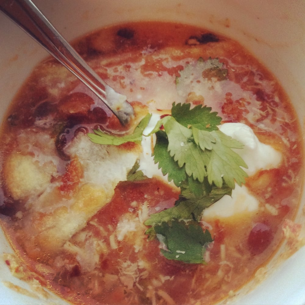 chicken tortilla soup insolence + wine