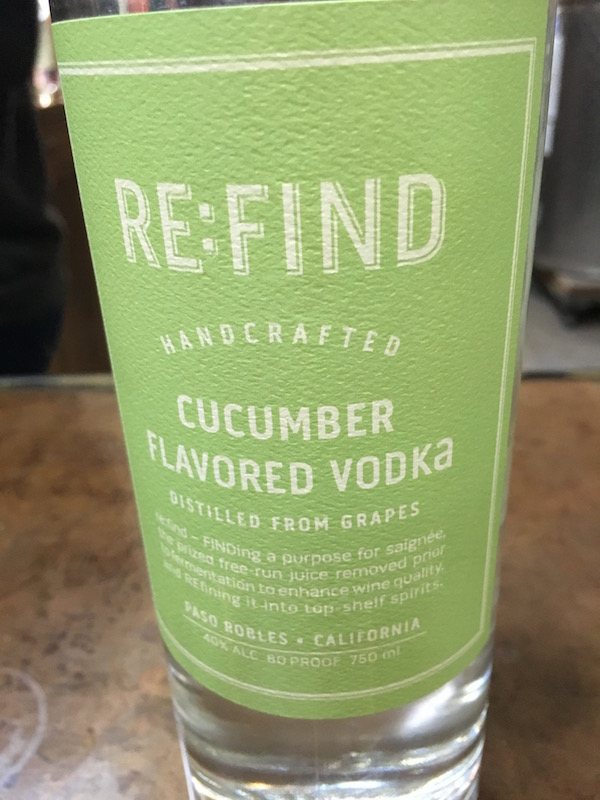 Re:Fined Cucumber Vodka insolence + wine