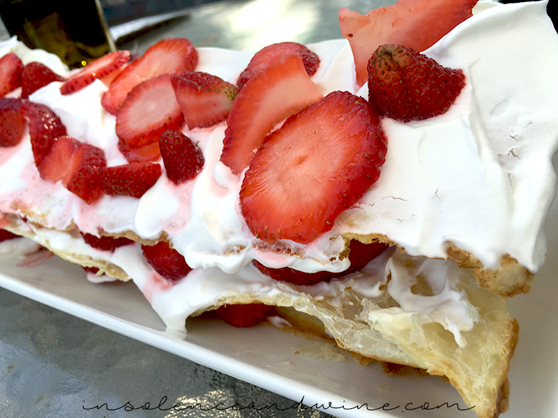 Strawberry Millefeuille Spring Entertaining insolence + wine