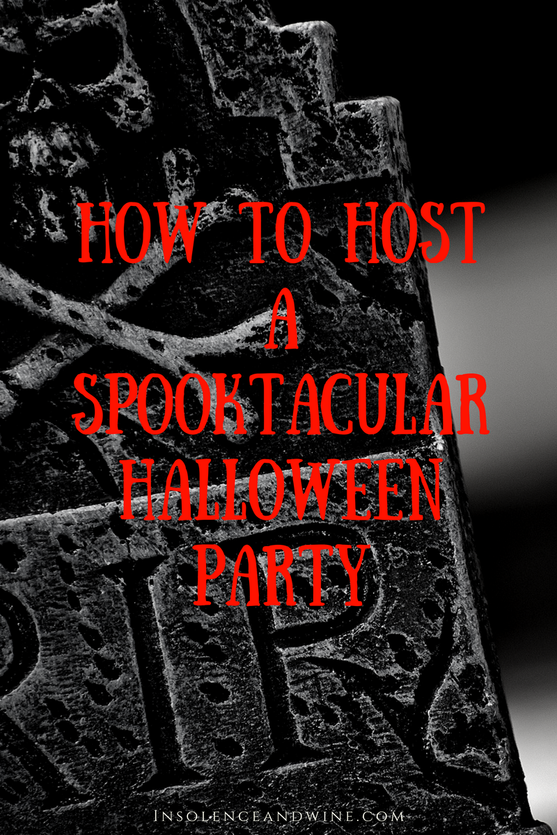 How To Host A Spooktacular Halloween Party