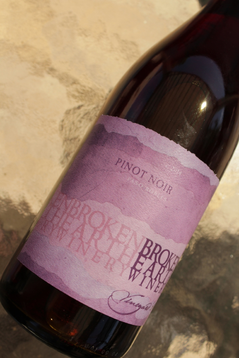 Broken Earth Pinot Noir insolence + wine