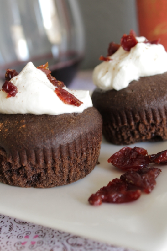 red wine cupcakes are made with cabernet sauvignon and are perfect for a special occasion. insolence + wine
