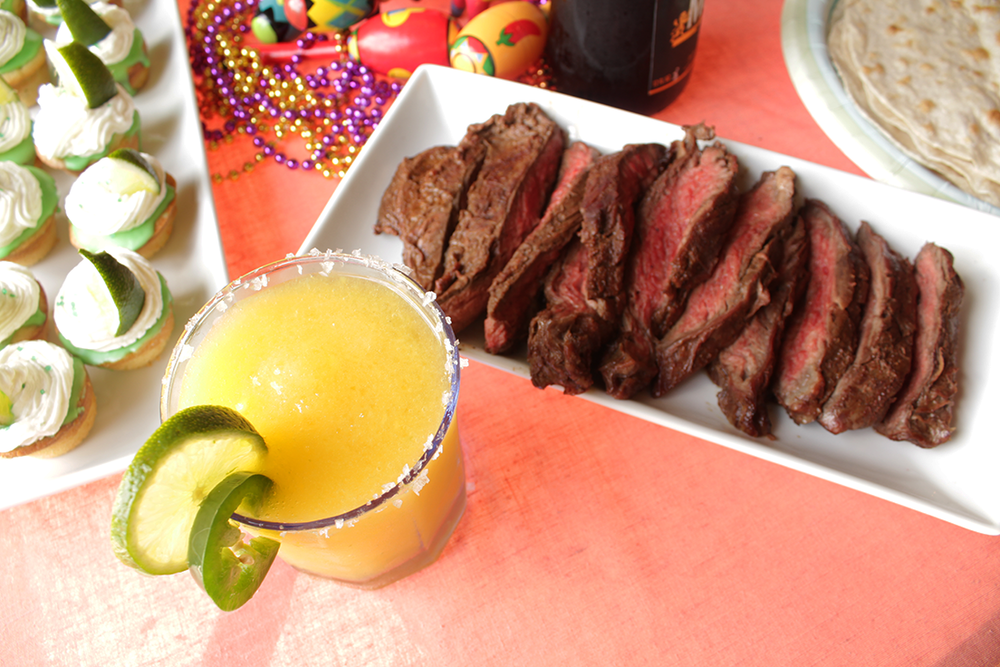 Authentic Carne Asada Cinco de Mayo insolence + wine