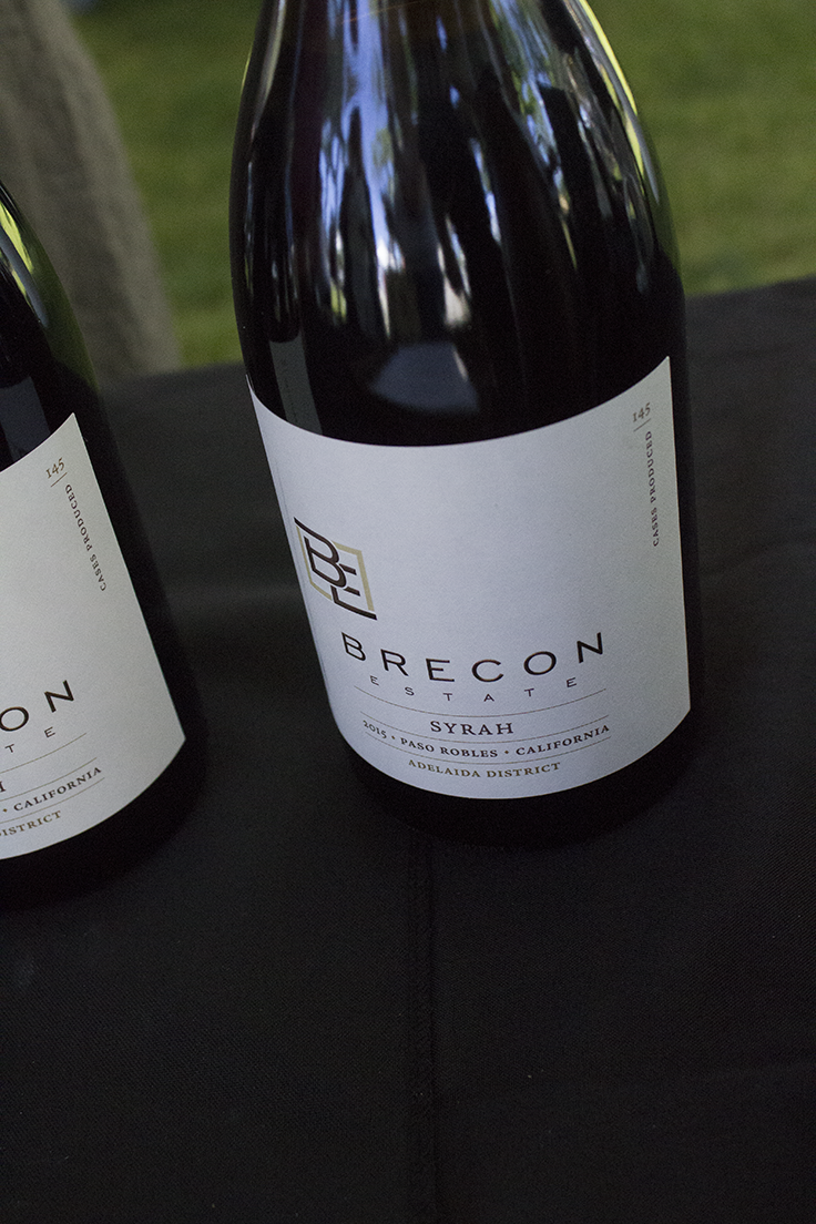 Brecon Estate Syrah Paso Robles Wine Fest Review 2017
