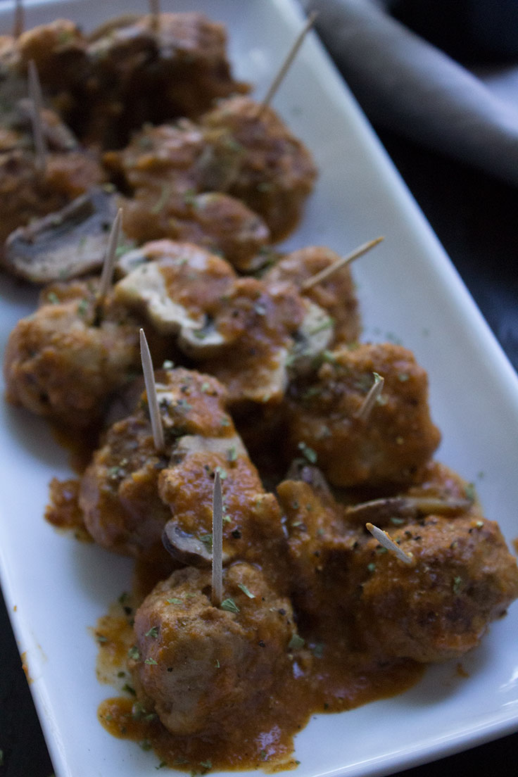 Albondigas make an ideal pairing with Garnacha wines and a perfect tapas style appetizer for holidays.