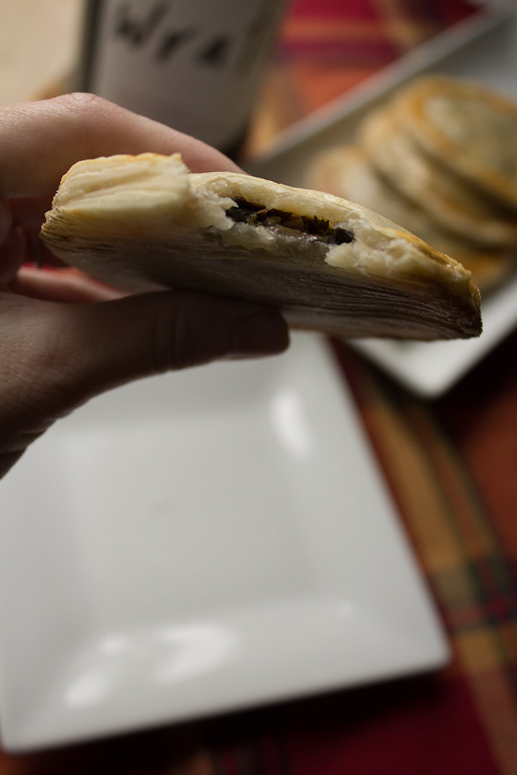 These savory mushroom turnovers are sure to impress your holiday dinner guests.