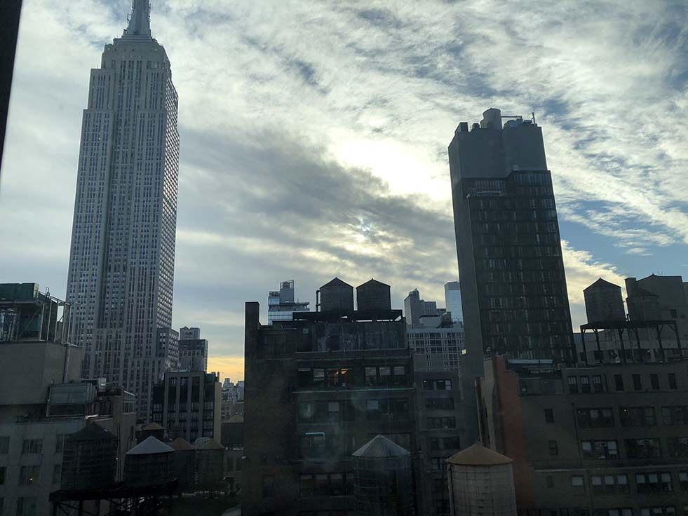 View of Empire State Building From Archer Hotel