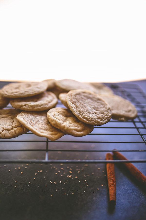 Snickerdoodle cookies are a must-have for any cookie swap. | insolenceandwine.com