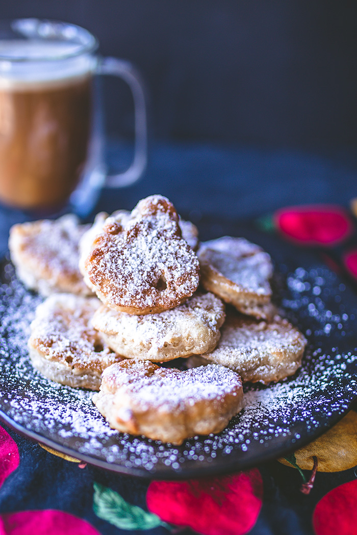 Take a trip to New Orleans in your own home and experience these apple pie beignets.