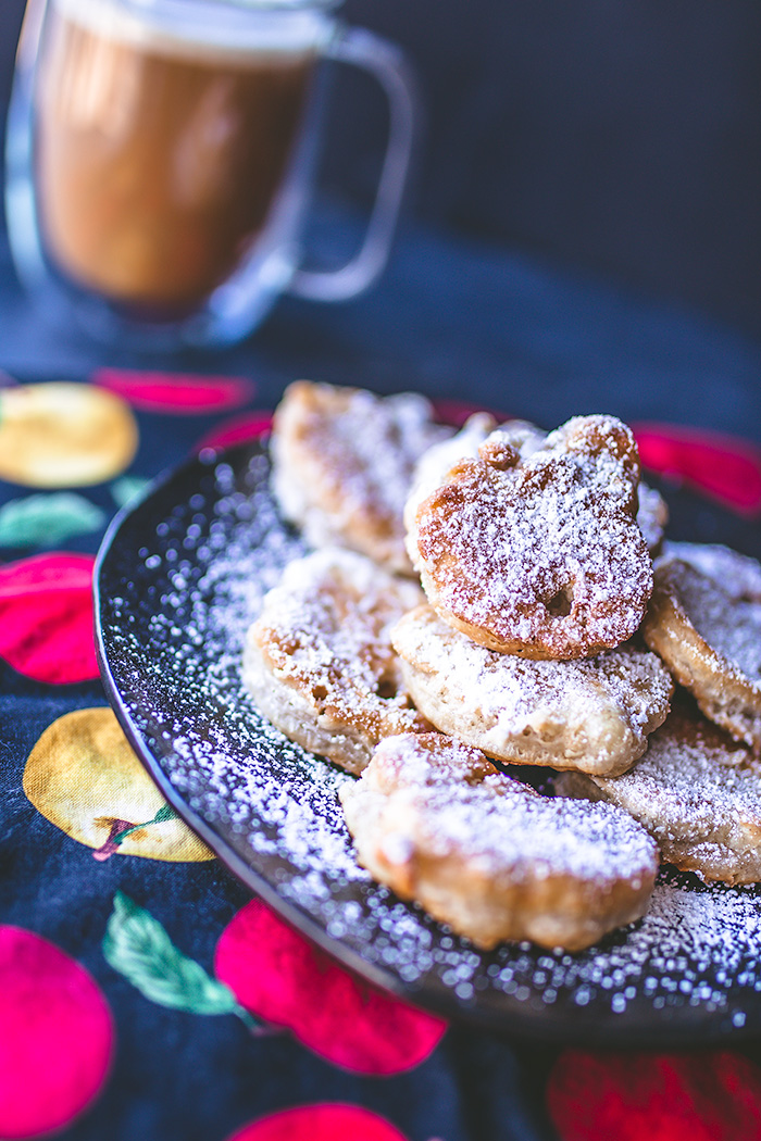 These untraditional beignets taste just like apple pie.