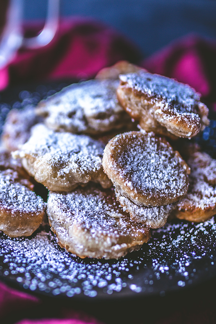Beignets have been given an unexpected twist: apples.