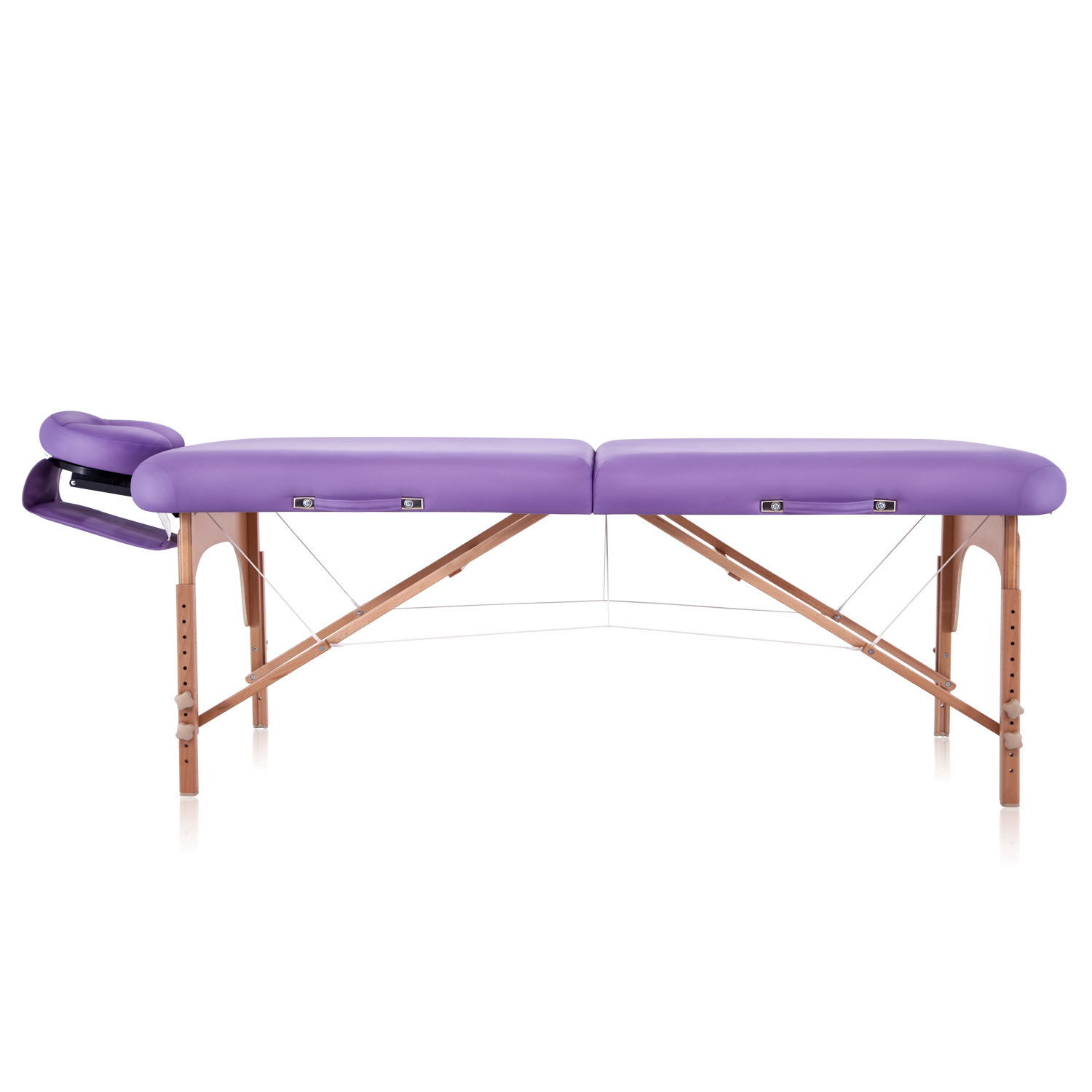 stationary wooden table detail for strong massage products sale ce