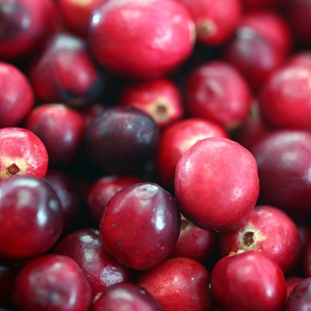 First cranberry recipes date back to the 18th century