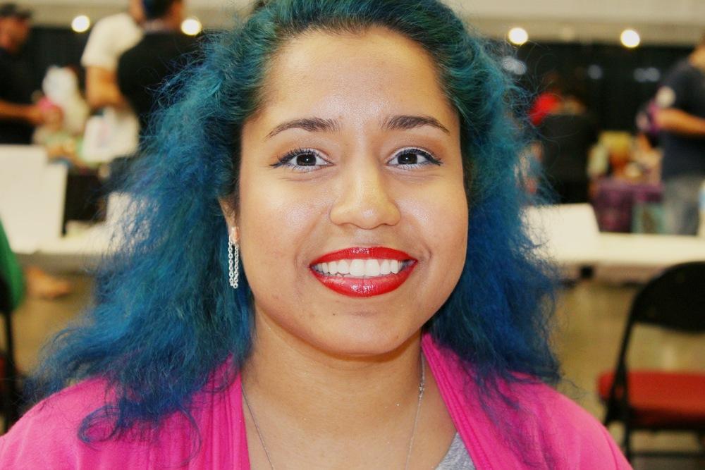 "Comic artist and ""unlazy creator"" Savannah Zambrano, Anthrocon, Pittsburgh, Pennsylvania"