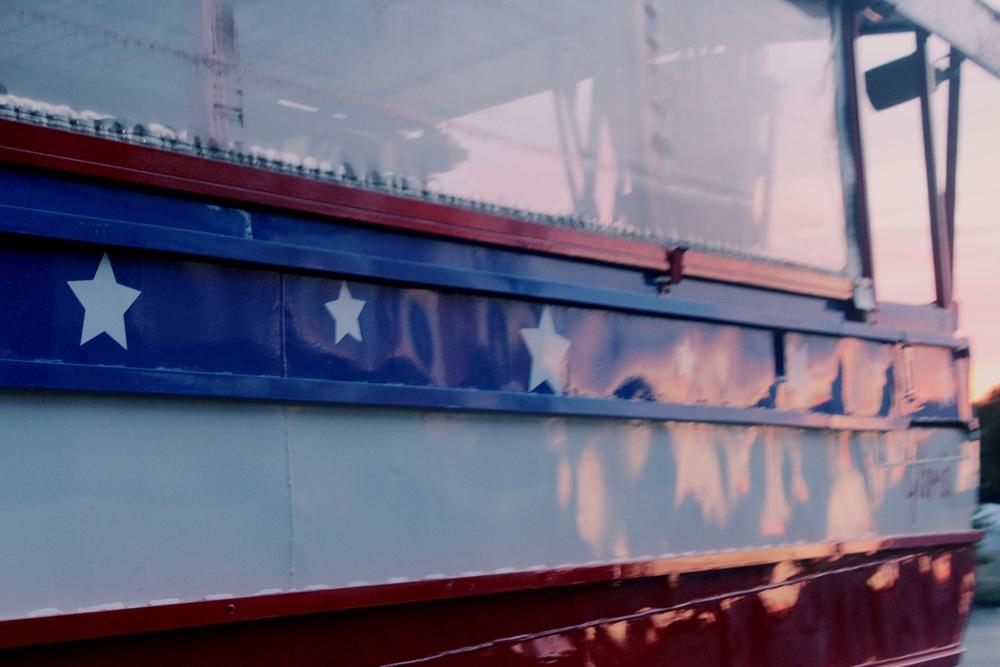Parked Duck Tour Bus, Branson, MIssouri