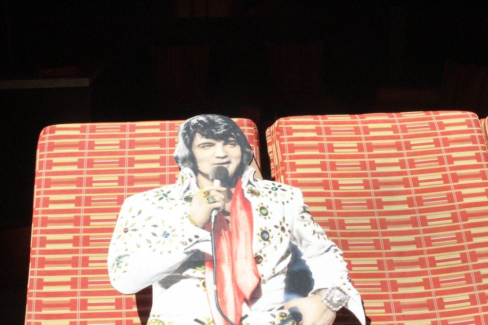 Elvis, Golden Nugget Casino, Biloxi, Mississippi