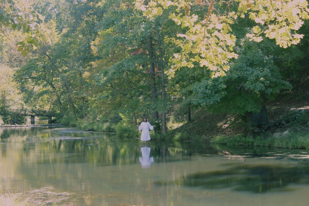 Jesus Walking On Water, The Holy Land Tour, Eureka Springs, Arkansas