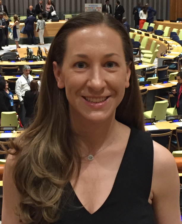 SWI PRESIDENT & CEO, ERIKA KURT, AT THE UNITED NATIONS.