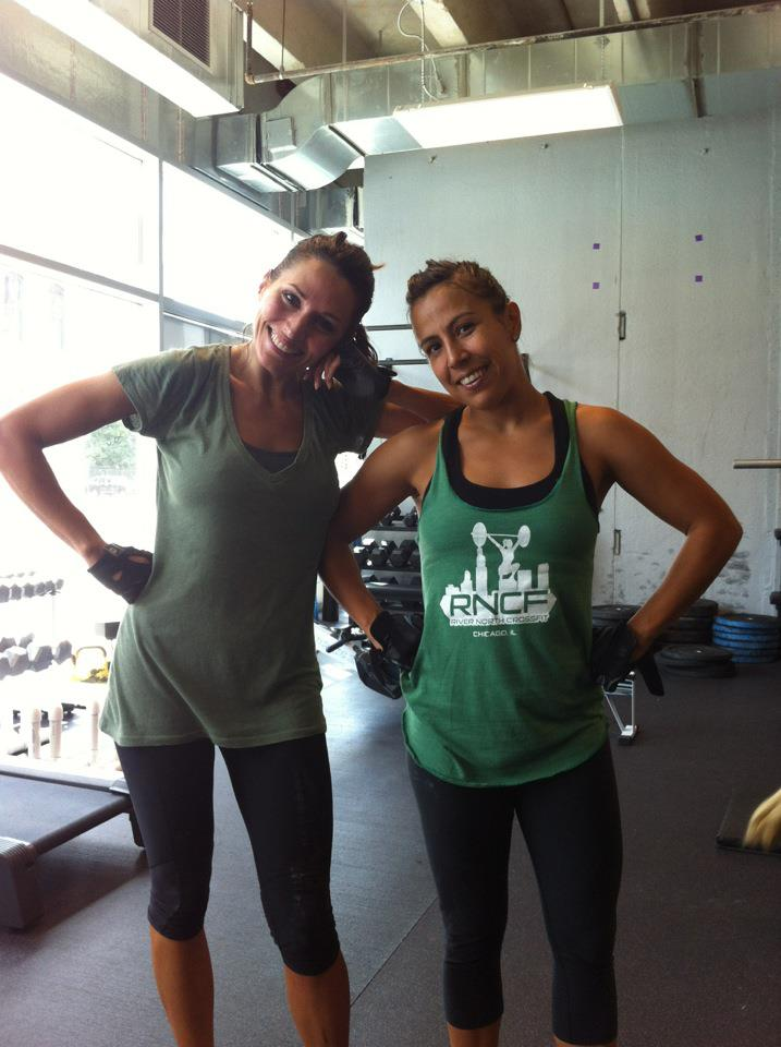 Anna and Sol at the gym